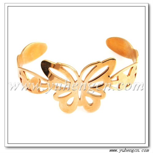 Stainless Steel Butterfly Bracelets/Bangles