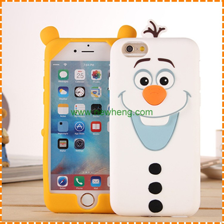 newest design silicone cell phone cases covers for iphone 7