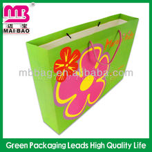 best selling green color recycled paper fruit cover bag