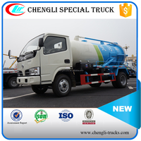 SHOCK PRICE 2500L (2.5 m3)VOLUME 4*2 right hand driving DONGFENG mini Sanitary Truck