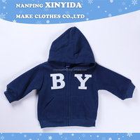 Cheap best selling baby boys blue one piece ski jacket
