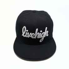 Factory good quality snapback caps plain hip-hop cap 3D embroidery logo