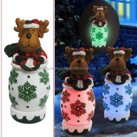 Outdoor Christmas decoration reindeer led light ornament
