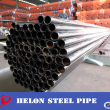 q195 erw low carbon welded plain ends grade b welded steel pipe