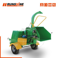 Assessed Factory Jockey Wheel Mini Shredder Chipper