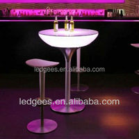 PE material 60*60*106cm modern coffee table used round banquet tables for sale