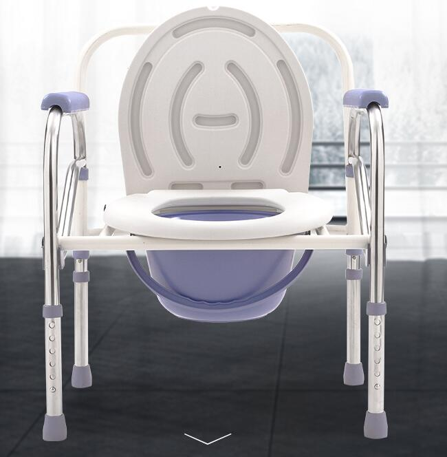 The best folding plastic commode chair in toilet with high quality