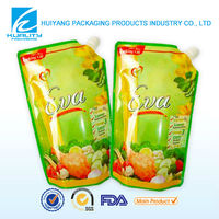 custom printing stand up juice pouch manufacturers