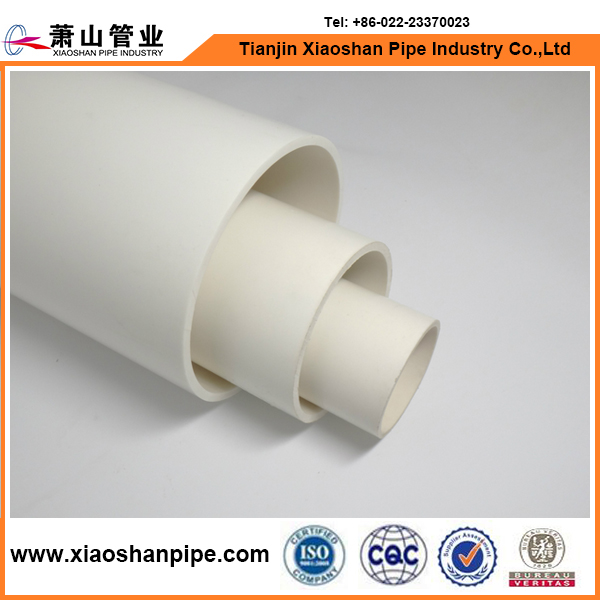 "6"" Inch Diameter pvc pipe specification Plastic Pipe Schedule 40 White"