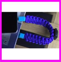 KD9707 high quality cheap fashion wholesale paracord survival bracelet