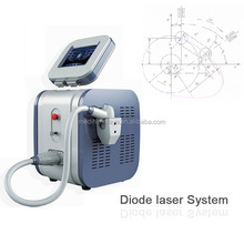 Portable diode laser hair removal equipment CE approved
