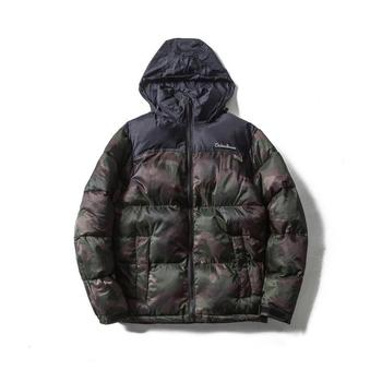 MS70951G New style men camouflage retro thick coats