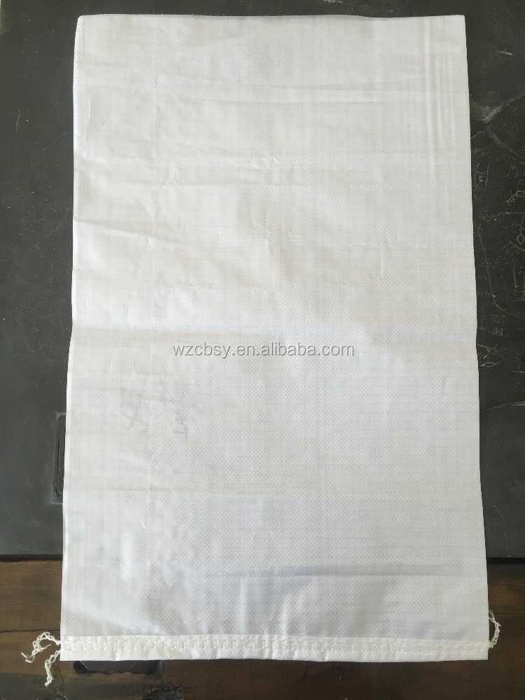 PP plastic type and recyclable feature PP woven bag