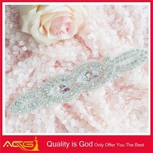 2014 new bling for Wedding Dress Sash 3d crystal portrait