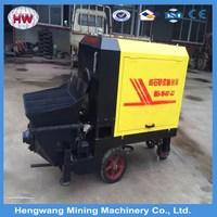 concrete pump mixer truck/portable concrete pumps /mini concrete pump
