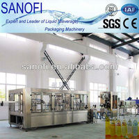 Automatic tea and juice bottling plant/machine/line