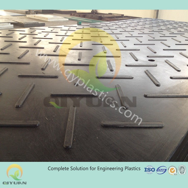 construction road mat/ plastic road plates/plastic tear drop plate for ground mat
