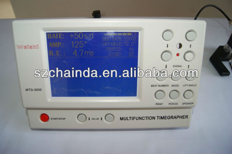 MTG-3000 Mechanical watch tester,watch timegrapher for rolex and omega