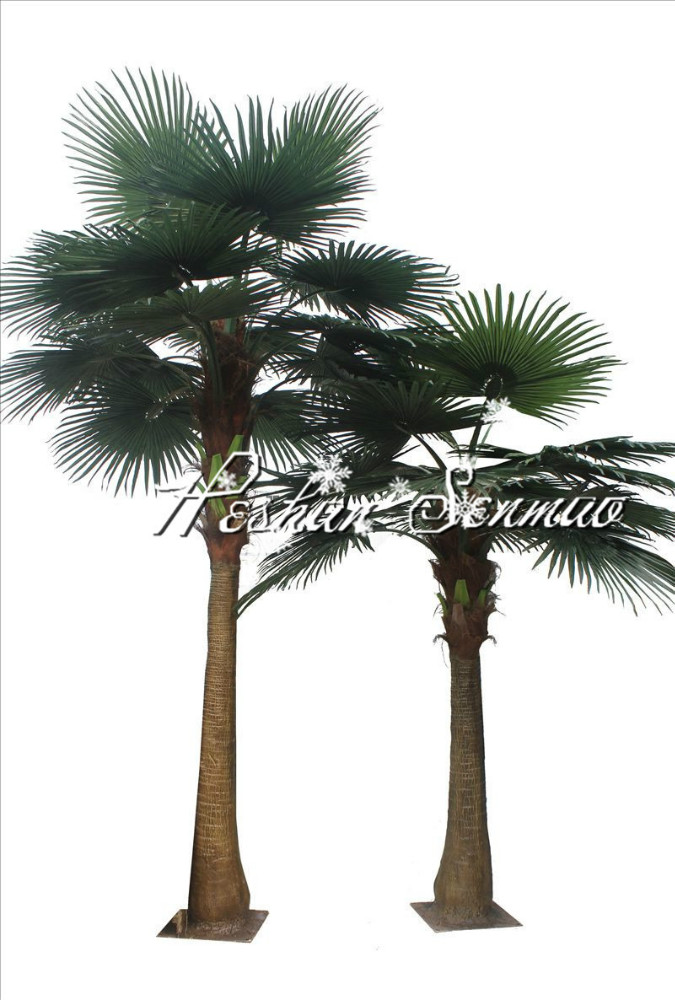 factory wholesale outdoor artificial fan palm tree for garden hotel decoration buy artificial. Black Bedroom Furniture Sets. Home Design Ideas