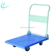 Foldable Platform Hand Trucks,folding steel platform push cart