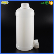 factory sale hdpe 500ml 1000ml plastic chemical 32 oz 1l white HDPE bottle