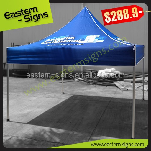 custom full color printing metal gazebo