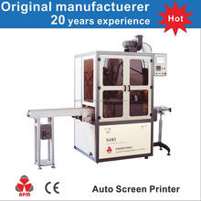 S103 Multifunction Automatic Cylindrical Uv Automatic Plastic Bottle Screen Printing Machine