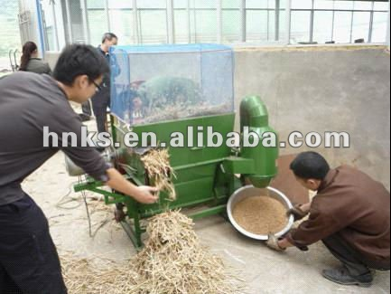 home-used small manual portable thresher /mini rice thresher