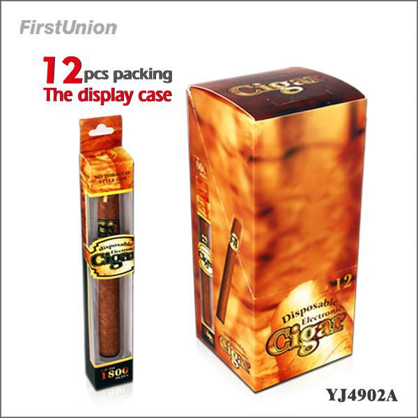 High quality ecigars YJ4902A 1800puffs electronic cigar