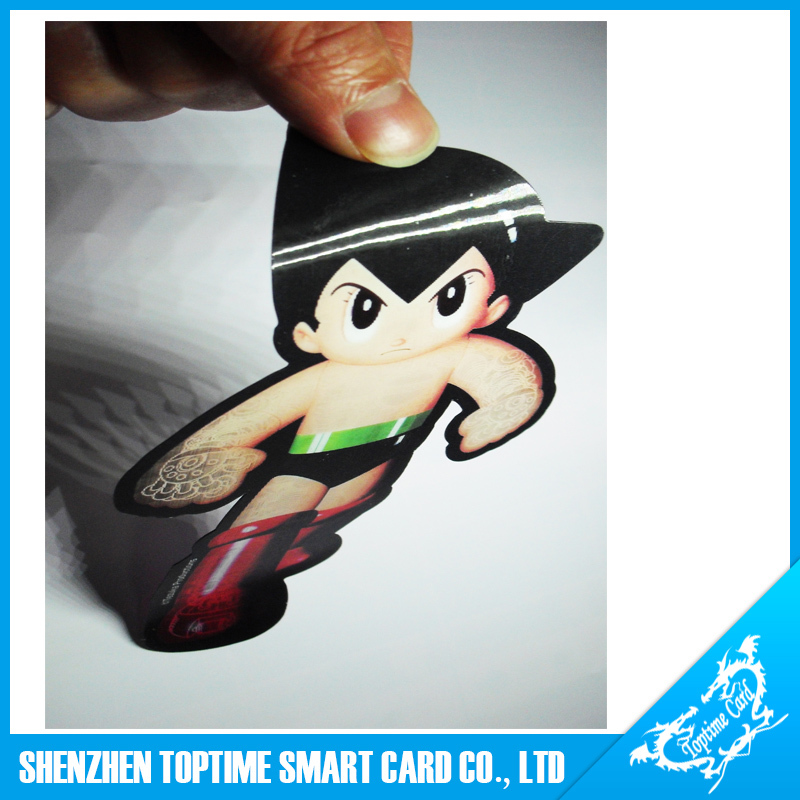 PET material adhesive backside puzzling 3d card for Disneyland
