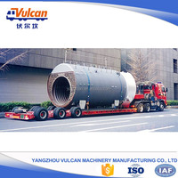 Customized good quality 3 axle flatbed semi truck trailer for sale