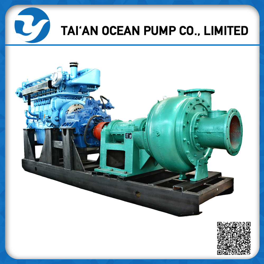 PNS Amphibious Sand And Gravel Pump for Land and Dredger