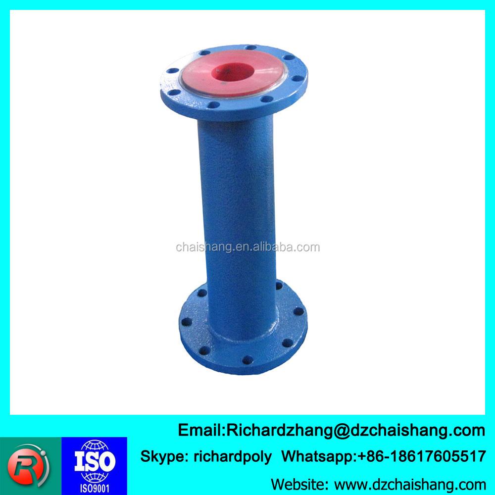 Larga vida revestimiento de poliuretano tubería tubos