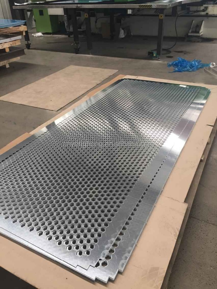 1060/1050/1100/3003/5005/5754/5052 aluminum metal screen perforated aluminum sheet