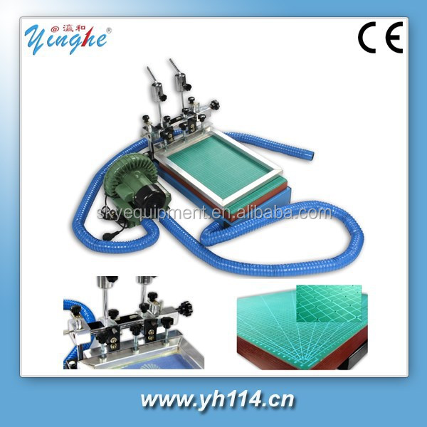 Stable quality simple keypad screen printing machine