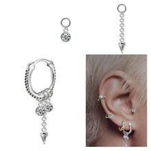 Fashion body jewelry of septum clickers ring piercing