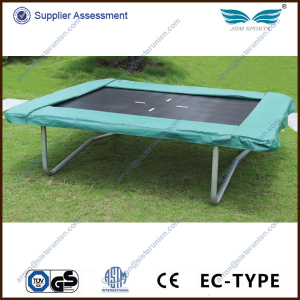 2014 outdoor gymnastic 10ft square trampoline