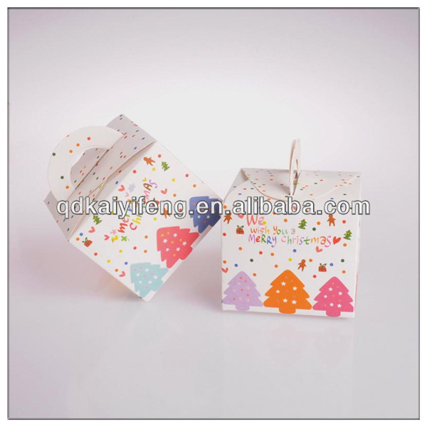 Folding cake paper boxes wholesale box for candies
