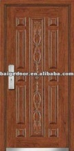 Security house Steel wood armored door (BG-A9031)