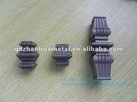 forged metal collar tips