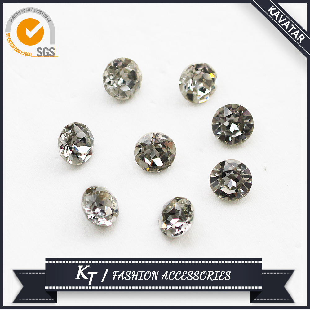 Beautiful Decoration Nail Rhinestones Flatback Claw Stone With Metal Setting #4127
