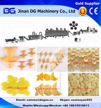 potato based 2d snacks pellets extruding machinery production line