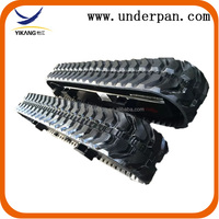 Heavy equipment spare parts excavator track undercarriage