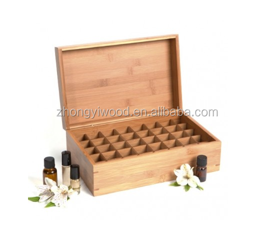 Wooden esstenial oil box wooden box for essential oil essential oil storage box
