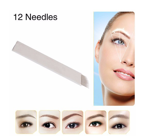 Wholesale Sterilized disposable eyebrow tattoo needles/microblading blades/microblading needles
