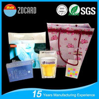 2015 ZDcard group cement bags professional leading manufacture in china