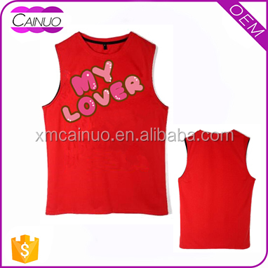 Tank Tops Men Manufacturers In China Singlets