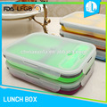 FDA & LFGB silicone material baby food container with lid
