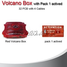 Alibaba Express 2015 version Volcano Box with Pack 1 Activate 32pcs with 4 Cable For MTK ,SPD,Mstar Cpu,Coolsand