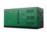 200kw soundproof diesel generator set for sale, powered by CUMMINS engine